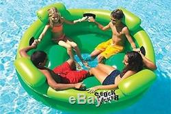 Inflatable Family Float Shock Rocker Toy Swimming Pool Pond Lake Party Floaty