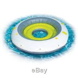 Inflatable Floating Island Pool Water Party Lounge 4 Person 90 Giant Raft Lake