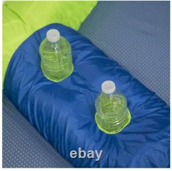 Inflatable Floating Island Tube Raft 4 Person Lake River Pool Water Green Blue