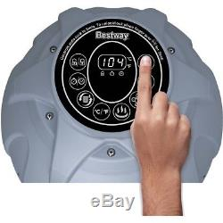 Inflatable Hot Tub Portable Spa Bath Pool Air Jet System Pump Cover Filter Pool