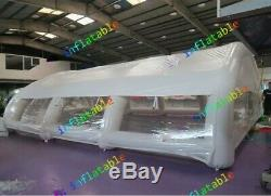 Inflatable Hot Tub Swimming Pool Enclosure Solar Dome Cover Tent With Blower NEW