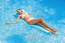 Inflatable Lilo Air Bed Mat Float Sun Lounge Swim Beach Swimming Pool 75 x 33
