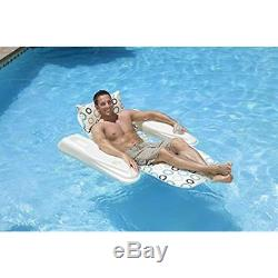 Inflatable Lounge Chair Swimming Water Pool Floating Hammock Sport Home 275lbs