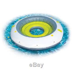 Inflatable Oasis Floating Island Pool Lake Water Party Giant Raft Lounge 4Person