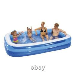 Inflatable Paddling Pool Garden Kids Fun Toys Family Swimming Pools Outdoor 79