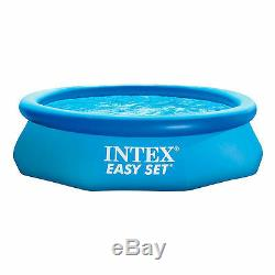 Inflatable Swimming Pool 12'x30 Filter Family Intex Yard Round Above Ground