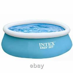 Inflatable Swimming Pool Above Ground Easy To Set 880 L Blue 3 Layers Strong