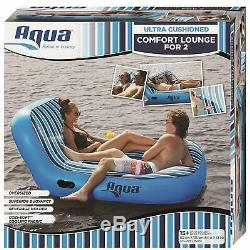 Inflatable Swimming Pool Float Giant Chair Swim Water Lake Lounge Ride Seat New
