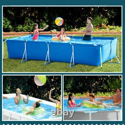 Inflatable Swimming Pool Frame Above Ground Pool Outdoor enlarge Paddling Pool