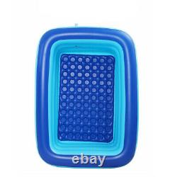 Inflatable Swimming Pool Multiple Size Adults Kids Family Pool Large Bathing Tub