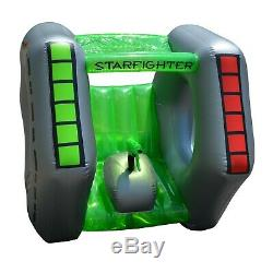 Inflatable Swimming Pool Super Squirter Kids Toy Children Water Starfighter Play