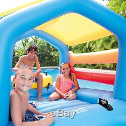 Inflatable Water Slide Bounce Play Center Swimming Pool Garden Yard Kids Fun Toy