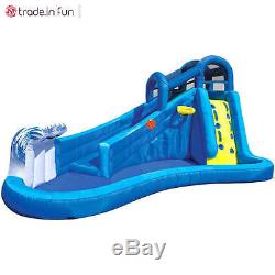 Inflatable Water Slide Pool Bounce House Commercial Bouncer Swimming Backyard