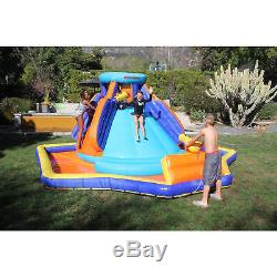 Inflatable Water Slide Pool Bounce House Outdoor Backyard Wide Bouncer Swimming
