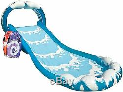 Inflatable Water Slide Pool Surf Blow Up Kids Outdoor Backyard Spray Play Center