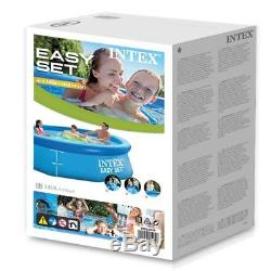 Intex 10' x 30 Easy Set Outdoor Family Above Ground Inflatable Swimming Pool