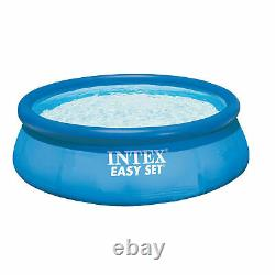 Intex 12ft x 30in Easy Set Up Inflatable Swimming Pool with Filter Pump(28131EH)