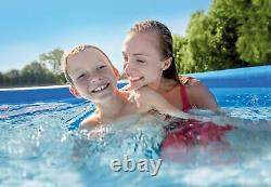 Intex 12ft x 30in Inflatable Above Ground Swimming Pool with Pool Chemical Kit