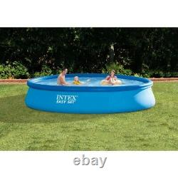 Intex 13ft Easy Set Round Inflatable Swimming Pool no Pump, no Filter