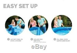 Intex 13ft x 33 Easy Set Inflatable Swimming Pool with530 GPH Filter Pump 28141EH