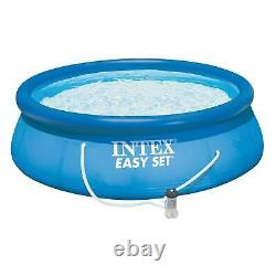 Intex 15' x 48 Inflatable Above Ground Bundle with Pool Care Chlorine Tabs, 10 Lb