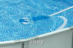 Intex 15 x48 Inflatable Pool with Ladder, Pump and Deluxe Pool Maintenance Kit
