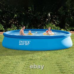 Intex 15ft x 33in Inflatable Above Ground Swimming Pool with Pool Chemical Kit