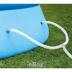 Intex 18 x 4 Foot Inflatable Easy Set Pool with Ladder, Pump, & Maintenance Kit