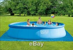 Intex 18' x 48 Inflatable Above Ground Swimming Pool with Accessories