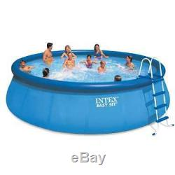 Intex 18' x 48 Inflatable Easy Set Above Ground Pool 28175EH (Used)