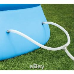 Intex 18' x 48 Inflatable Round Outdoor Above Ground Swimming Pool Set with Pump
