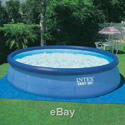 Intex 18Ft x 48In Inflatable Round Above Ground Swimming Pool Set (For Parts)