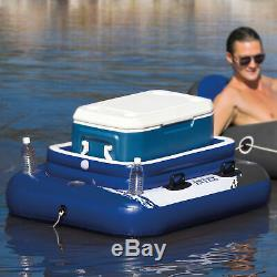Intex 26325EH Above Ground Swimming Pool with Pump, Inflatable Cooler & Lounger