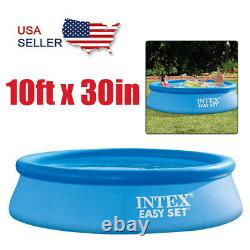 Intex 28131EH 10ft x 30in Easy Set Up Inflatable Swimming Pool NO Filter Pump