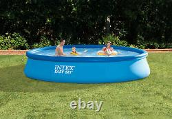 Intex 28141EH 13ft x 33 Easy Set Inflatable Swimming Pool with530 GPH Filter Pump