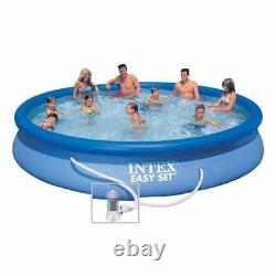 Intex 28158 Easy Set Above Ground Inflatable Pool Round 15ft 457x84cm with Pump