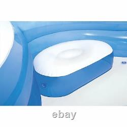 Intex 56475EP Swim Center Family Lounge Inflatable Pool 90inch X 90inch X 26inch