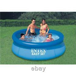 Intex 8' x 30 Easy Set Inflatable Above Ground Pool 28110E (Open Box) (2 Pack)
