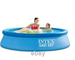 Intex 8'x24 Easy Set Round Inflatable Above Ground Pool
