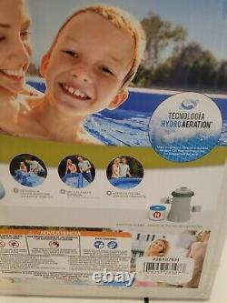 Intex 8'x24 Easy Set Round Inflatable Above Ground Pool WITH PUMP & FILTER