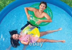 Intex 8ft x 30in Easy Set Inflatable Swimming Pool with 330 GPH Filter Pump