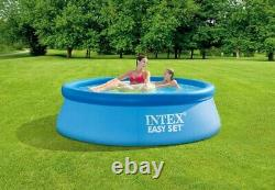 Intex 8ft x 30in Easy Set Inflatable Swimming Pool with Filter Pump SHIPS FAST