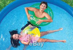 Intex Easy Set 10ft x 30in Above Ground Inflatable Round Swimming Pool for Kids
