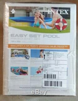 Intex Easy Set 10ft x 30in Above Ground Inflatable Swimming Pool WITHOUT PUMP