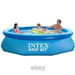 Intex Easy Set Above Ground Inflatable Swimming Pool (Lot of 10) Open Box