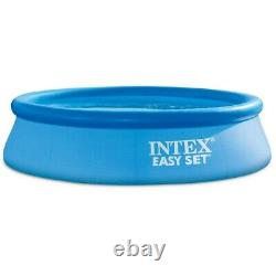 Intex Easy Set Inflatable Kid Swimming Pool with Filter Pump
