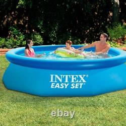 Intex Easy Set Up Inflatable Paddling Swimming Pool For Garden 10 Feet X 30 Inch