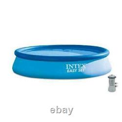 Intex Easy set Inflatable Round Above Ground Swimming Pool Set with Pump