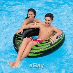 Intex River Rat 48-Inch Inflatable Tube Raft For Lake, Pool, or River (10 Pack)