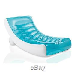 Intex Swimming Pool Float Large Inflatable Swimline Floating Lounge Raft Chair